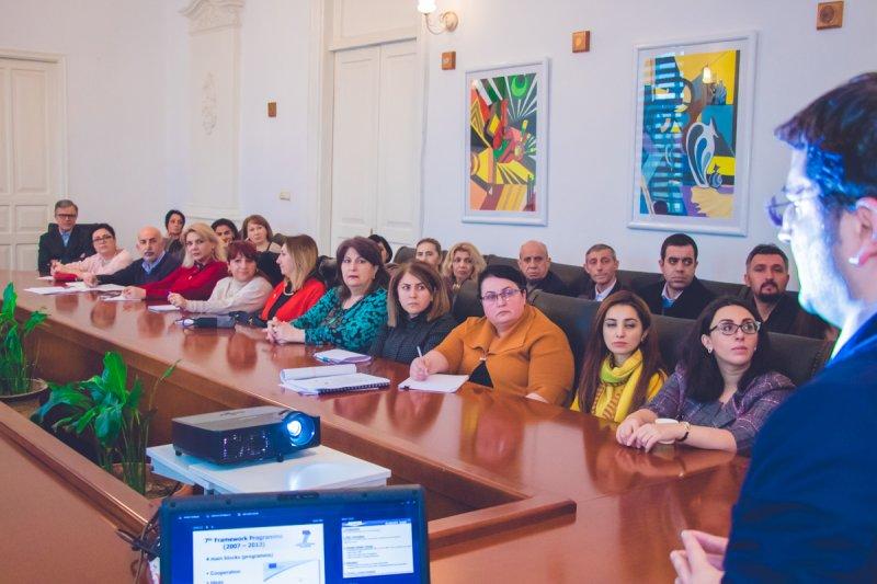 Западно-Каспийский университет проводит Информационный день по исследованиям и инновациям Horizon 2020