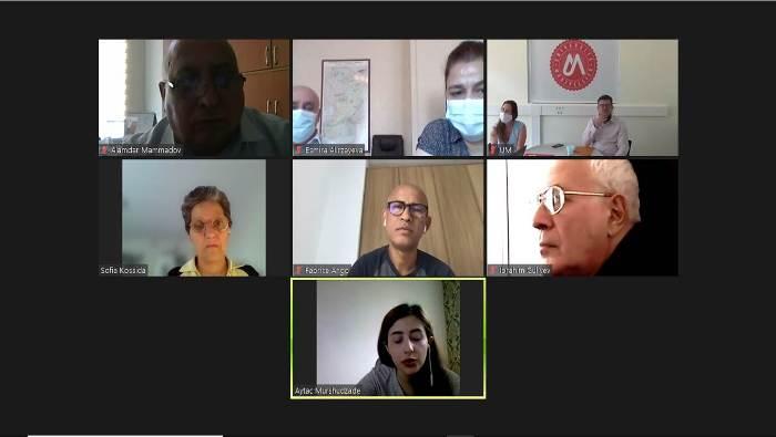 AMEA və Fransanın Monpelye Universitetinin Birgə Seçki Komissiyasının onlayn görüşü keçirilib