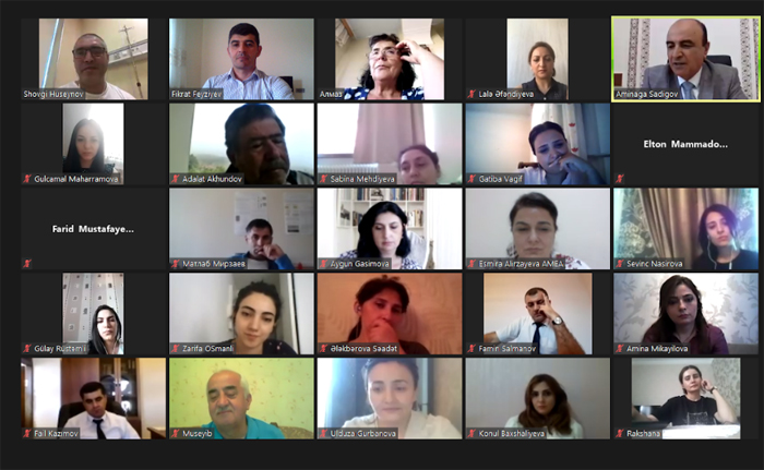 В академии состоялся онлайн-семинар для молодых ученых